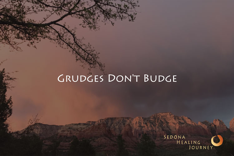 Grudges Don't Budge……until they do